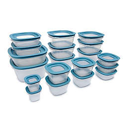 Rubbermaid® 38-Piece Flex & Seal Food Storage Set in Aqua