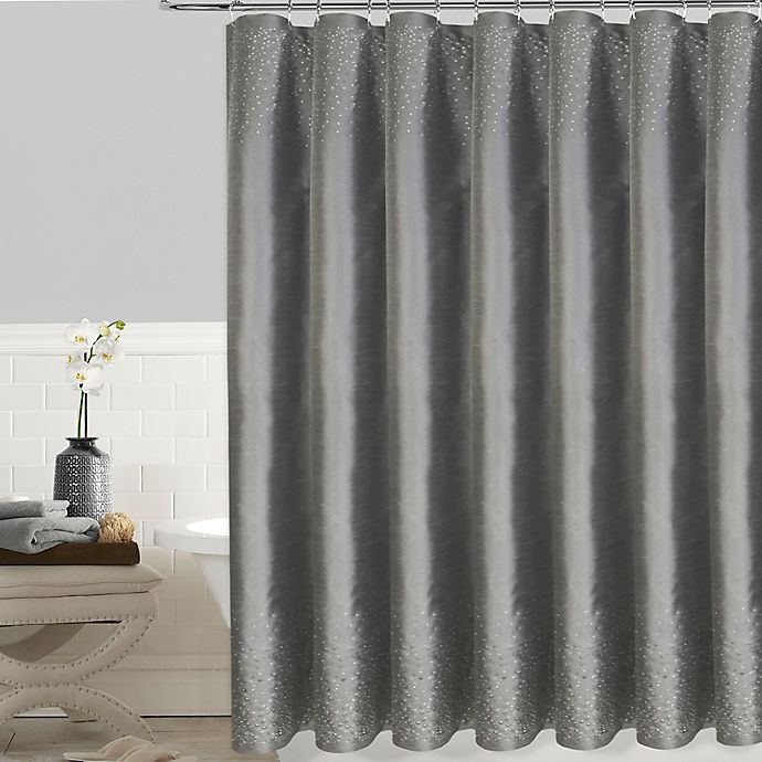 72 Inch Shower Curtain In Grey View A Larger Version Of This Product Image