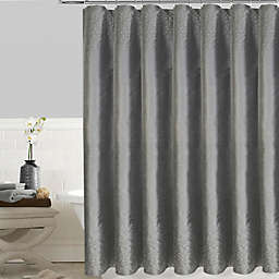 Twilight 72 Inch X Shower Curtain In Grey