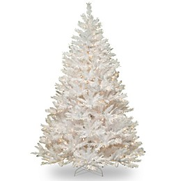 National Tree Company 7-Foot Wispy Willow Grande White Pre-Lit Christmas Tree with Clear Lights