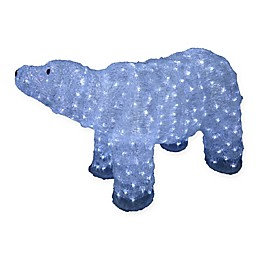 National Tree Company Polar Bear Lawn Décor with LED Lights