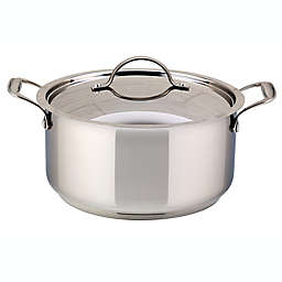 Meyer Confederation Stainless Steel Covered Dutch Oven