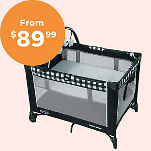 A playard is so worth it when you need your hands or baby needs a nap.