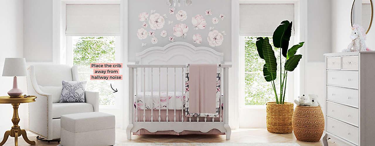 Nursery design for sleep