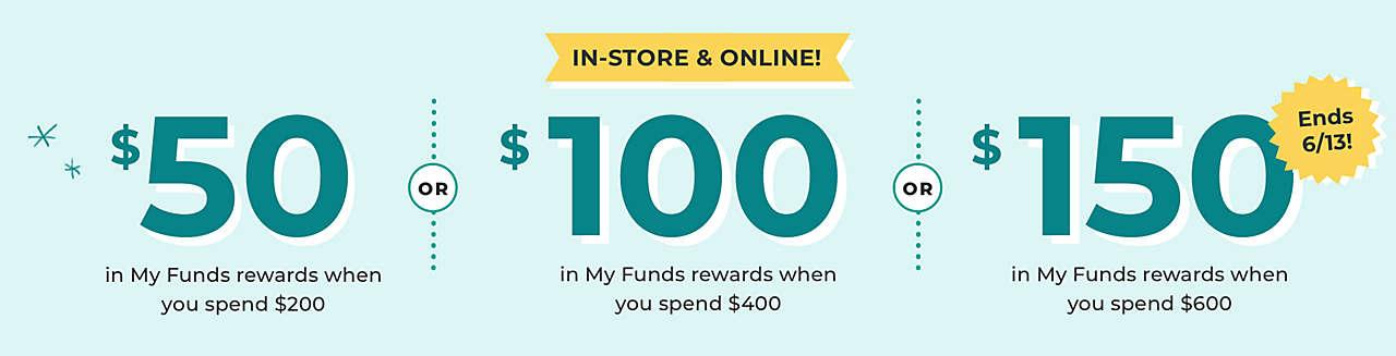 Get up to $150 in rewards!