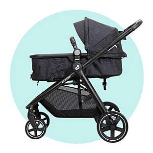 Bassinet strollers