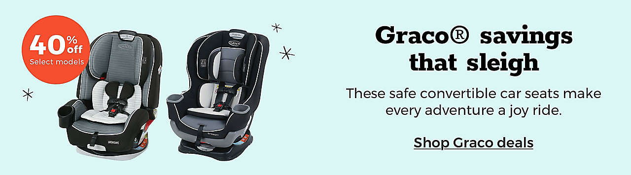 Graco® savings that sleigh