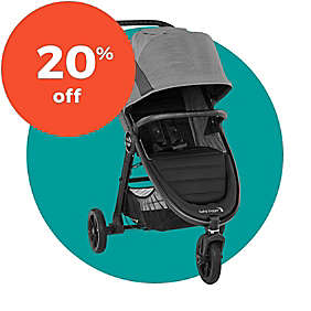 Select Baby Jogger® Stollers & Travel Systems