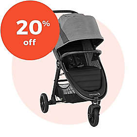 20% off Select Baby Jogger® Stroller & Travel Systems