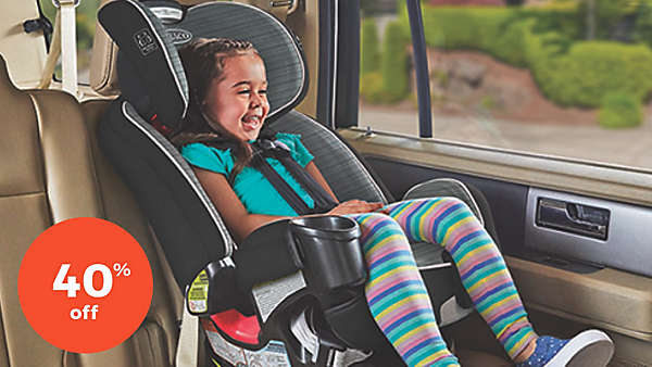40% off select carseats