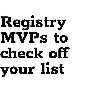 Registry MVPs to check of your list