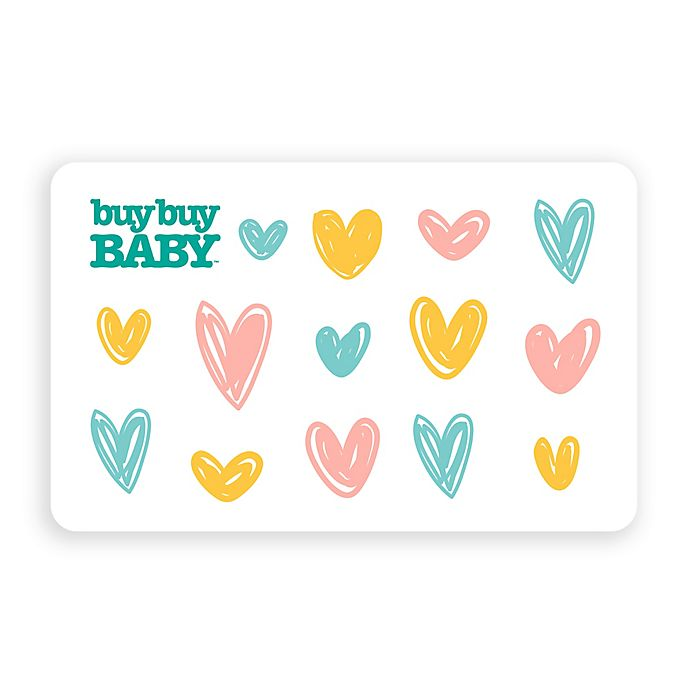 Alternate image 1 for Multi Hearts Gift Card