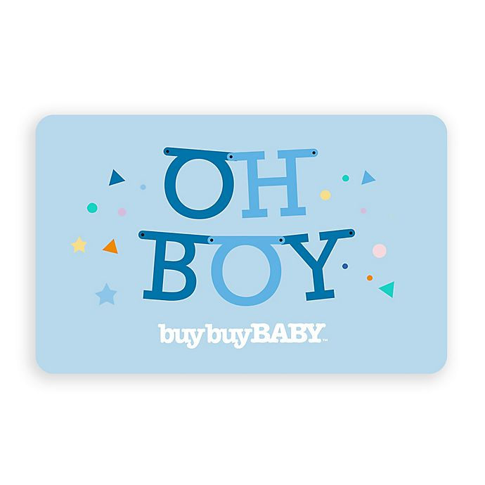 Alternate image 1 for Oh Boy Gift Card