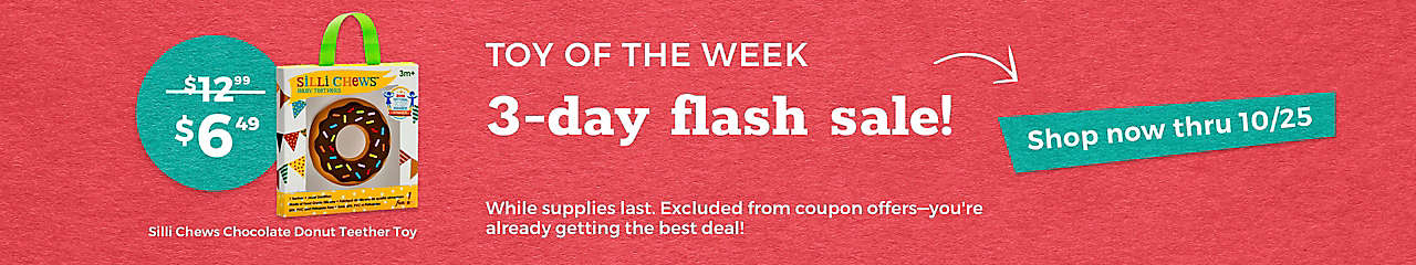 toy of the week 3 day sale