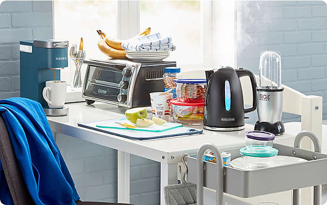 set up a snack & coffee station