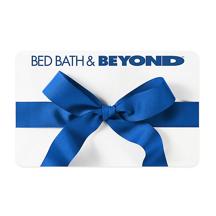 Alternate image 1 for Blue Bow Gift Card
