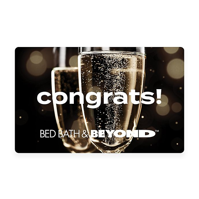 Alternate image 1 for Congrats! Champagne Gift Card