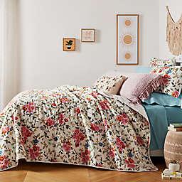 Wild Sage™ Floral Garden 3-Piece Full/Queen Quilt Set in Natural