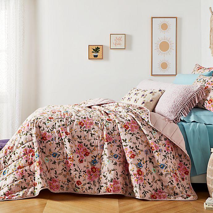 Alternate image 1 for Wild Sage™ Floral Garden 2-Piece Twin/Twin XL Quilt Set