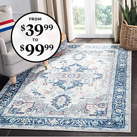We're Rolling Out Big Rug Deals Just for You!. Shop Now