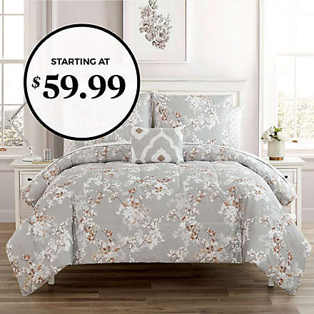 12-Piece Comforter Sets! Get More Bang for Your Buck!. Shop Now