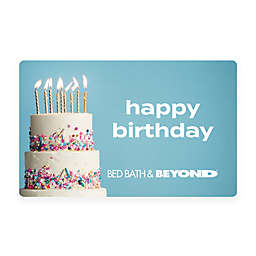 Happy Birthday Cake $50 Gift Card
