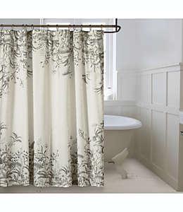 Cortina de baño de algodón Bee & Willow™ Home Grey Gardens color gris