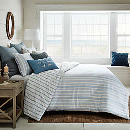 Bee & Willow™ Home Yarn Dye Stripe 3-Piece Duvet Cover Set