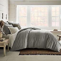 Bee & Willow™ Striped Cranston 3-Piece Full/Queen Duvet Cover Set in Grey