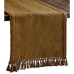 Bee & Willow™ Femme Tweed Table Runner in Wood