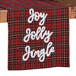 Bee & Willow™ Holiday Joy Jolly Jingle Table Runner