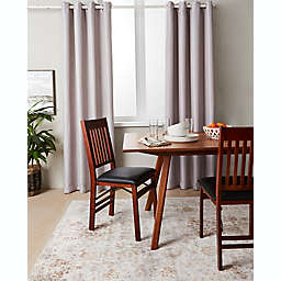 Brookstone® Zadie 95-Inch Grommet 100% Blackout Window Curtain Panel in Plum