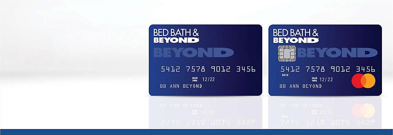 Bed Bath & Beyond® credit card program