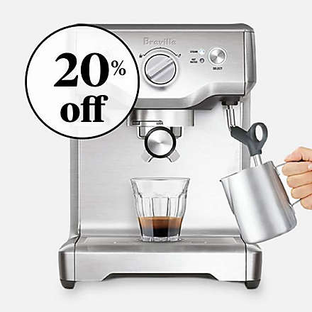 Save on the Breville® Duo-Temp™ Pro Espresso Maker. Shop Now