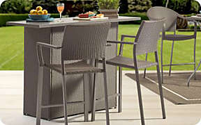 Take the party outside with perfect patio furniture.. Shop Now