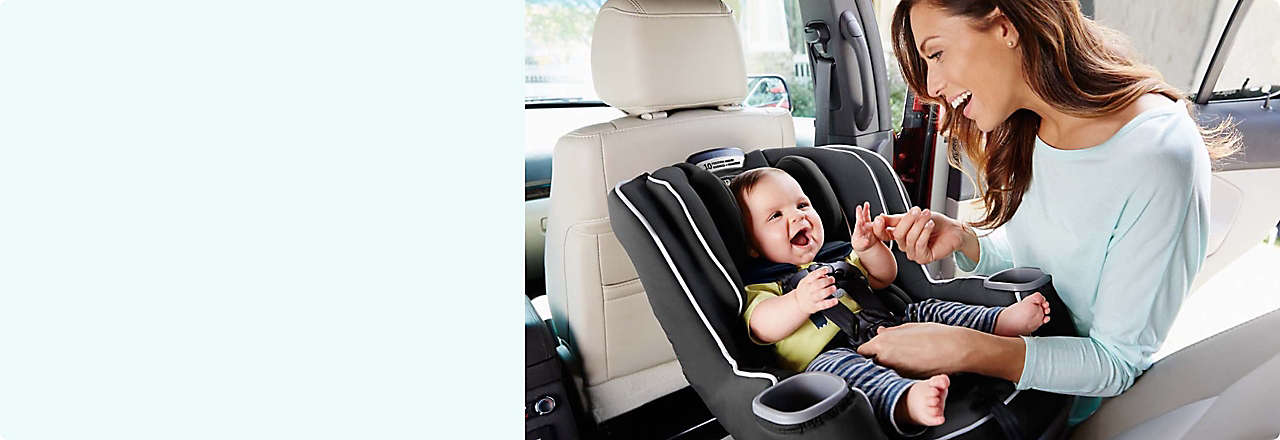 Car seats to keep your little ones (infants to toddlers) safe on the go.