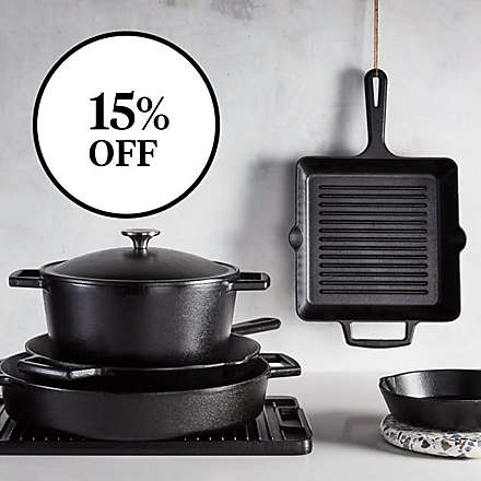 Save on Select Artisanal Kitchen Supply® Cast Iron. Shop Now