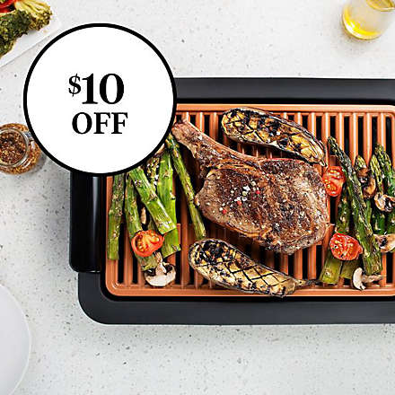 Save on Gotham™ Steel Electric Smokeless Grill and Griddle . Shop Now