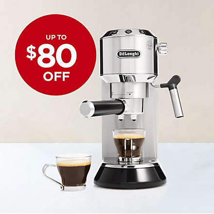 Save on De'Longhi Dedica Espresso Machine. Shop Now