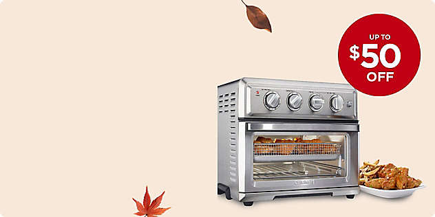 Up to $50 OFF UP TO Select Cuisinart® Appliances thru 24/Nov.