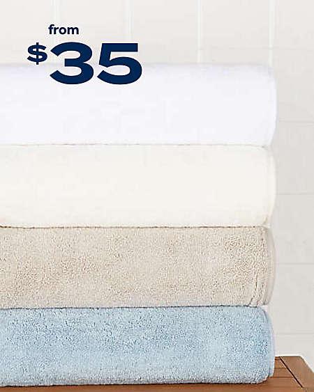 Haven™ Turkish cotton bath towel collection