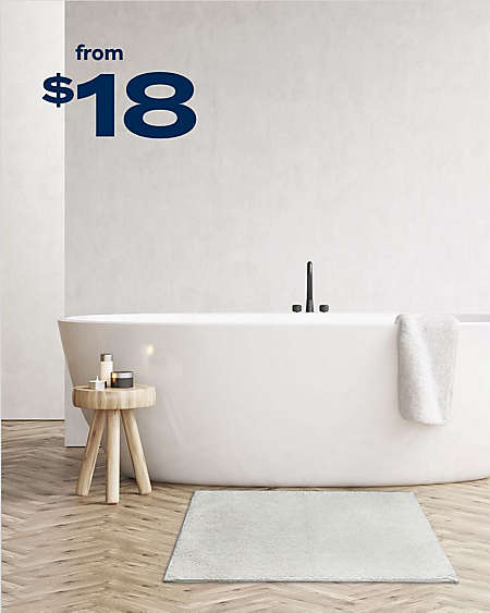 "Simply Essential™ cotton 20"" x 32"" bath rug"