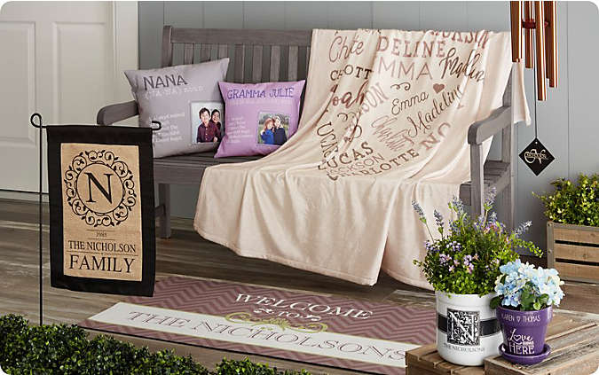 Shop Personalized Home