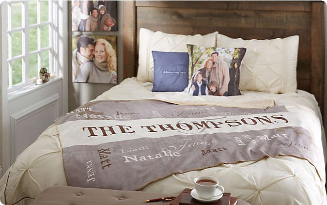 Shop Personalized Bedding