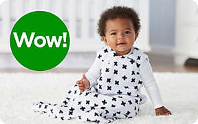 Wearable blankets to keep baby cozy on chilly nights.. Shop Now