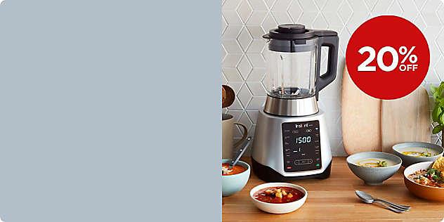 20% OFF Select Instant Pot® Kitchen Appliances thru 1/Mar.