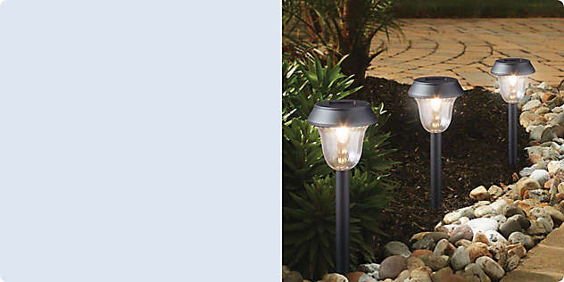 The Grand Outdoors: Landscaping & Decorative Lighting
