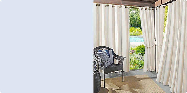 Shop Outdoor Curtains