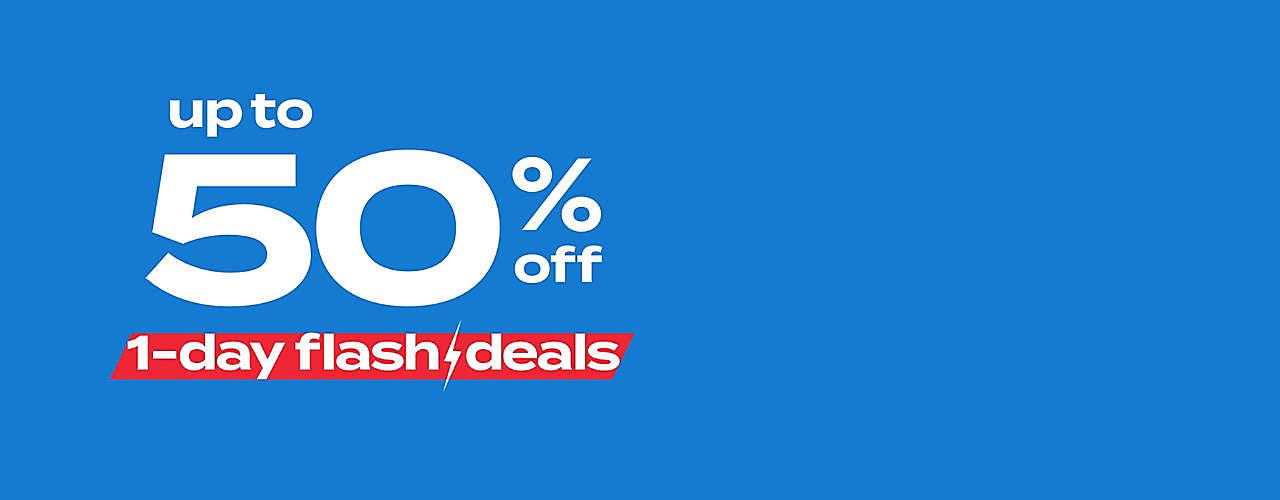 1-day flash deals!