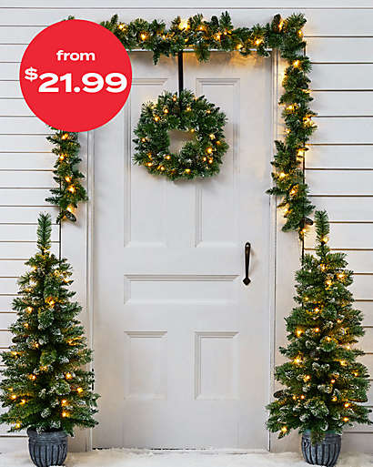 outdoor decor starting at $21.99